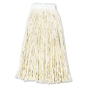 Unisan Premium Cut-End Wet Mop Heads, Cotton, 12/Carton