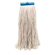 Unisan 20 oz Economical Lie Flat Mop Head in White