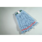 Rubbermaid Commercial Products Medium Web Foot Wet Mop Head in Blue