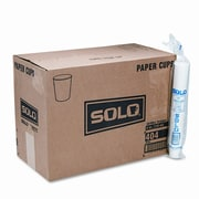 Solo Cups Company Paper Water Cups, 4 Oz., 50 Bags of 100/Carton