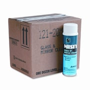 AmRep Misty Glass & Mirror Cleaner with Ammonia, 19 Oz. Aerosol Can, 12/Carton