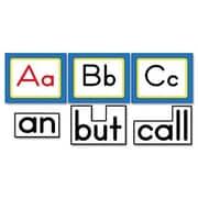 CARSON-DELLOSA PUBLISHING Quick Stick Word Wall Kindergarten Letters