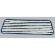 Rubbermaid Commercial Products 18'' Microfiber Finish Pad in Blue / White