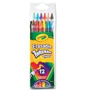 Crayola Twistables Erasable Colored Pencils (12/Pack)