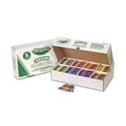 Crayola Classpack Regular Crayons 8 Colors (800 per Box)
