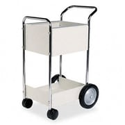 FELLOWES MANUFACTURING Steel Mail Cart