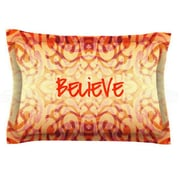 KESS InHouse Tattooed Believer by Caleb Troy Woven Pillow Sham; King