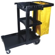 Rubbermaid Commercial Products Multi-Shelf Cleaning Cart