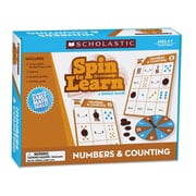 Scholastic Spin To Learn Numbers and Counting Flash Cards