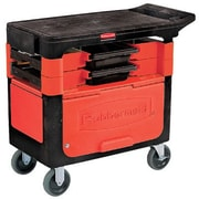 Rubbermaid Commercial Products Locking Trades Cart