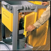 Rubbermaid Commercial Products Locking Cabinet for Use with RCP Cleaning Carts