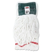 Rubbermaid Commercial Products Web Foot Shrinkless Looped-End Wet Mop Head, Medium