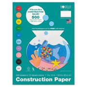 Roselle Heavyweight Construction Paper (500 Pack)