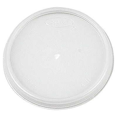 DART Plastic Lid for 4 oz. Cups (Carton of 1,000) WYF078277519908