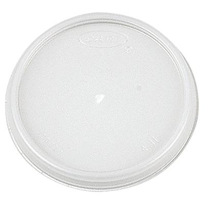 DART Plastic Lid for 4 oz. Cups (Carton of 1,000) WYF078277519908