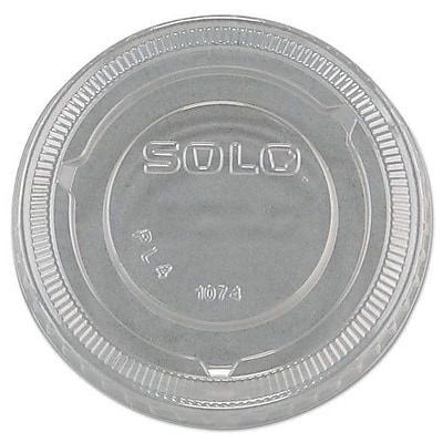 Solo Cups No-Slot Plastic Cup Lids (Set of 2500) WYF078277505428