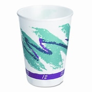Solo Cups Company Symphony Design Trophy Foam Hot/Cold Cups, 1000/Carton