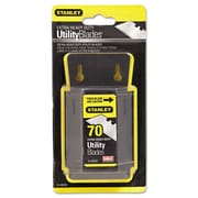 STANLEY BOSTITCH Extra Heavy Duty Utility Knife Blades (Pack of 70)