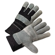 Anchor 2000 Series Leather Palm Denim-Back Gloves