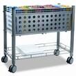 ADVANTUS CORPORATION Vertiflex Smar2rx File Cart, 1-Shelf, 28-1/4W X 13-3/4D X 27-3/8H