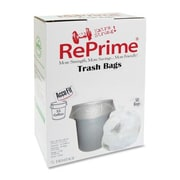 Heritage Bag Company Reprime Can Liners, 55 Gal, 0.9 Mil, 50/Box