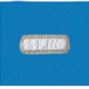 Unisan 12'' x 5'' Dust Mop Head in White