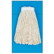Unisan 20 oz Rayon Fiber Cut-End Mop Head with Premium Standard Head in White