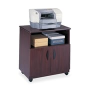 Safco Products Mobile Machine Stand; Mahogany