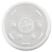 DART Transluscent Plastic Cold Cup Lid (Set of 1000)