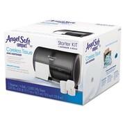 Compact Tissue Dispenser and Angel Soft Tissue Start Kit
