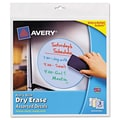 Avery Peel and Stick Dry Erase Decal (3 Pack); Yellow