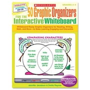Scholastic Graphic Organizers for Interactive Whiteboard Book