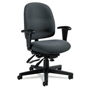 Global Low-Back Multi-Tilter Chair; Gray