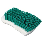 Boardwalk Polypropylene Scrub Brush; Green