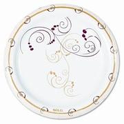 Solo Cups Symphony Paper Dinnerware, Mediumweight Plate, 500/Carton