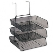 FELLOWES MANUFACTURING Mesh Partition Additions Three Tray Organizer
