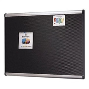 Quartet Prestige Embossed Wall Mounted Bulletin Board, 2' H x 3' W