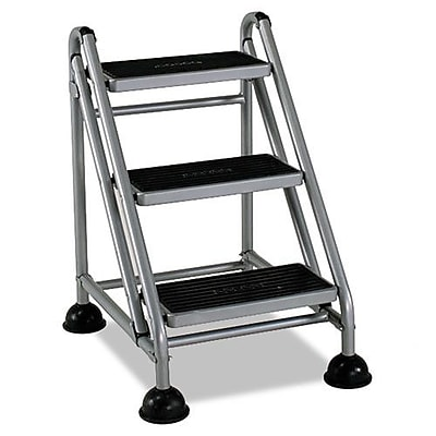 Cosco 3-Step Rolling Commercial Step Stool