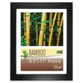 Nu-Dell Bamboo Picture Frame; 8.5  x 11