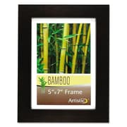 Nu-Dell Bamboo Picture Frame; 5  x 7