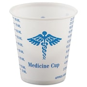 Solo Cups Medical and Dental Graduated 3 oz. Paper Cups (Set of 5000)