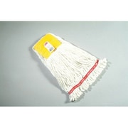 Rubbermaid Commercial Products 0.54'' Small Web Foot Wet Mop Head in White