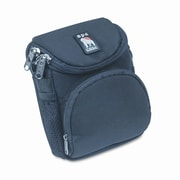 APE CASE Ape Case AC220 Camera Bag, Nylon, 4-1/8 x 3-5/8 x 6-3/4, Black