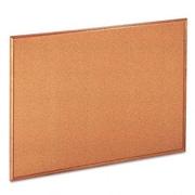 Universal Products Universal Cork Wall Mounted Bulletin Board; 3' x 4'