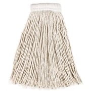 Rubbermaid Commercial Products 16 Oz Economy Cotton Mop Heads with 5'' White Headband