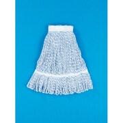 Unisan Medium Floor Finish Mop Head in Blue Stripe