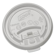 Dixie Plastic Lids for Hot Drink Cup (1000 Per Carton)