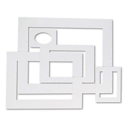 Pacon Creative Products Pre-Cut Mat Frames for Photo/Art (Set of 60)