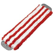 Unger Microfiber Mop Head in Red / White