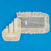 Unisan 48'' x 5'' Dust Mop Head in White